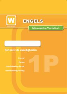 1P - Mijn Omgeving - Voorstellen - Certificaat